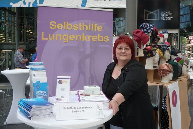 Barbara Baysal ist Gründungsmitglied der Selbsthilfe gegen Lungenkrebs (Foto: Iris Meumann)